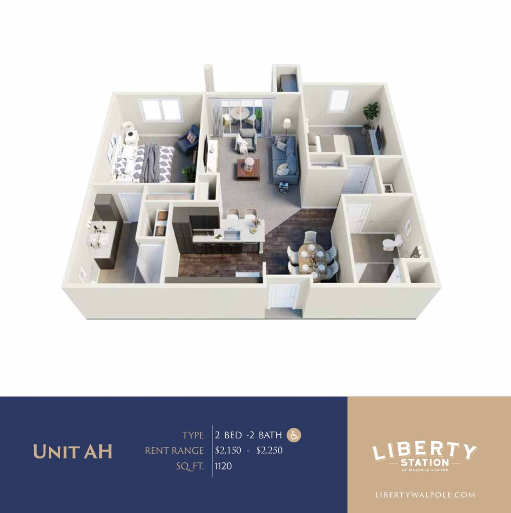 Liberty Station Unit AH Revised Price